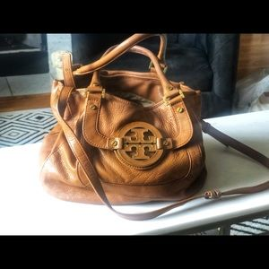 Tory Burch leather boho bag